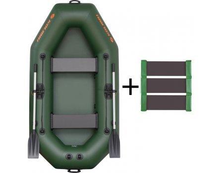Лодка надувная ПВХ Колибри К-250Т (слань-коврик)