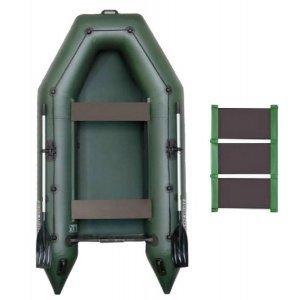 Лодка надувная ПВХ Колибри КМ-280 (слань-коврик)