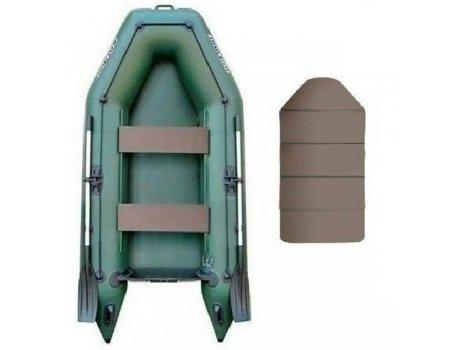 Лодка надувная ПВХ Колибри КМ-280 (слань-книжка)