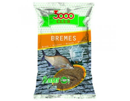 Прикормка Sensas 3000 Club Bremes (желтая, лещ), 1кг
