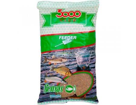 Прикормка Sensas 3000 Club Feeder (универсальная), 1кг