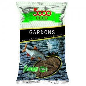 Прикормка Sensas 3000 Club Gardon (коричневая, плотва), 1кг