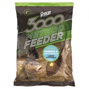 Прикормка Sensas 3000 Method Feeder Bream&Big Fish (крупная рыба), 1кг