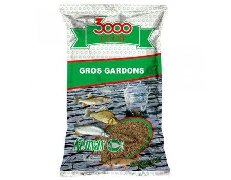 Прикормка Sensas 3000 Club Gros Gardon (большая плотва), 1кг