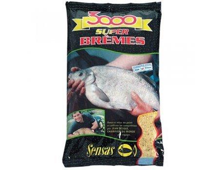 Прикормка Sensas 3000 Super Bremes (светлая, лещ), 1кг