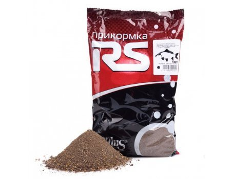 Прикормка RS карп (черный), 1кг