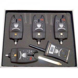 Набор сигнализаторов клева Barracuda TLI-04, 4шт.+пейджер