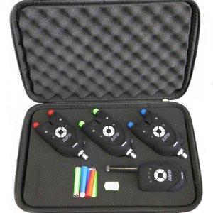 Набор сигнализаторов поклевки CarpeX Rapid 88-EK-530, 3шт.+пейджер