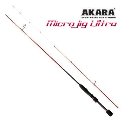 Спиннинг Akara SL1004 Micro Jig Ultra TX-30 2.3м, 0.5-6гр