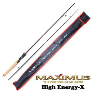 Спиннинг Maximus High Energy-X 18UL 1.8м, 1-7гр
