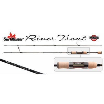 Спиннинг Surf Master River Trout 1.68м, 0.5-5.6гр