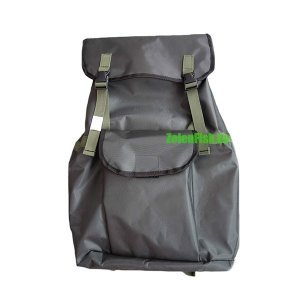 Рюкзак для рыбалки зеленый ПВХ-40, 40л