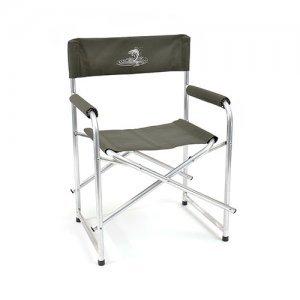 Кресло складное Кедр базовый вариант, алюминий
