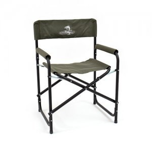 Кресло складное Кедр базовый вариант, сталь