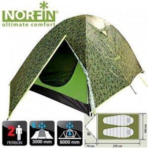 Двухместная палатка Norfin Cod 2