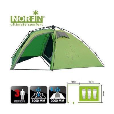 Трехместная палатка Norfin Peled 3