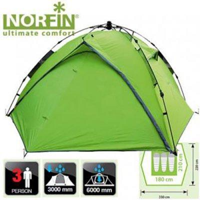 Трехместная палатка Norfin Tench 3