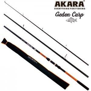 Удилище карповое Akara Geden Carp TX-20 3.6м, тест: 2.75lbs, 360гр
