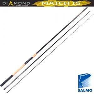 Удилище матчевое Salmo Diamond Match 15, 3.9м, 202гр