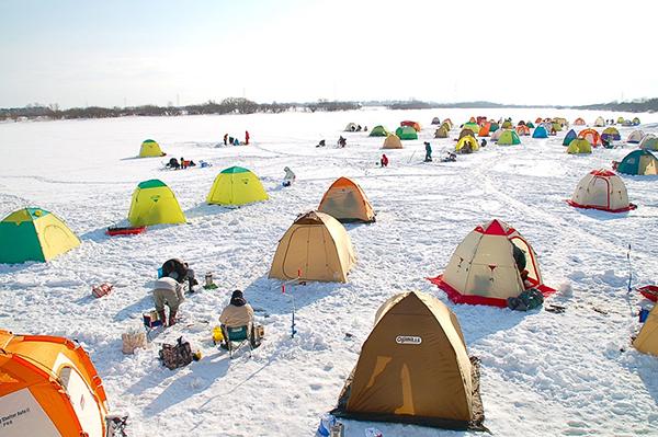 большой выбор палаток для зимней рыбалки
