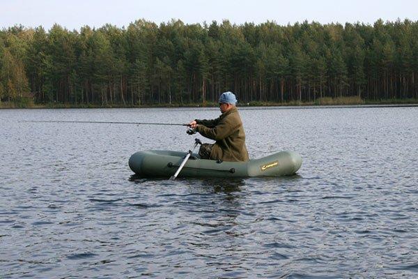 Купить надувную 1-местную лодку ПВХ Лидер Компакт 220 в Минске в ZelenFish.by
