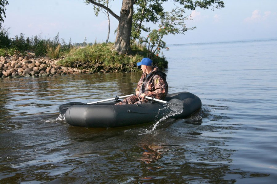Купить надувную 2-местную лодку ПВХ Лидер Компакт 265