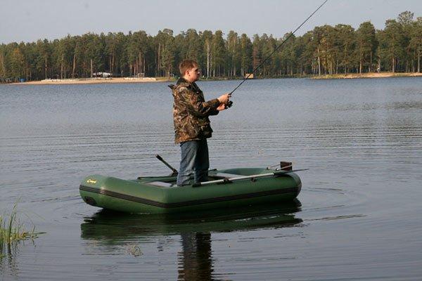 Купить надувную 2-местную лодку ПВХ Лидер Компакт 280 в Минске с бесплатной доставкой